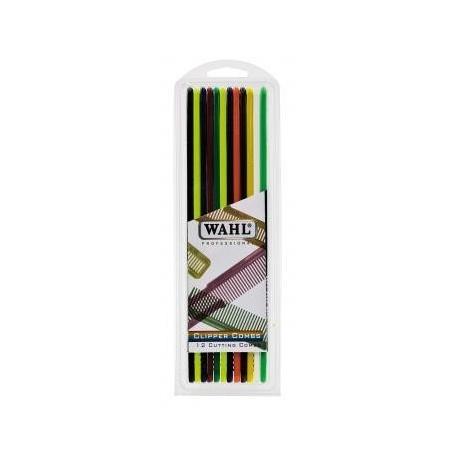 WAHL PACK PEINES FLAT TOP DE COLORES 12 UNID