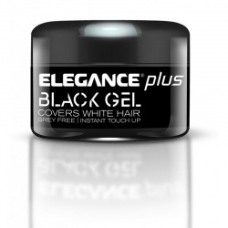 ELEGANCE PLUS BLACK GEL-CUBRE CANAS 100 ML