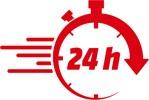 Envío gratuito 24 horas a partir de 75€