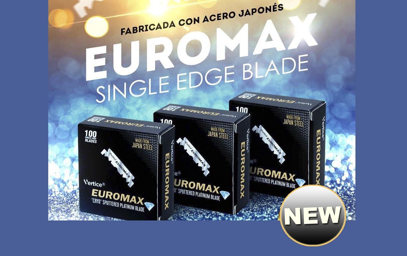 Cuchillas Euromax fabricadas en acero japonés